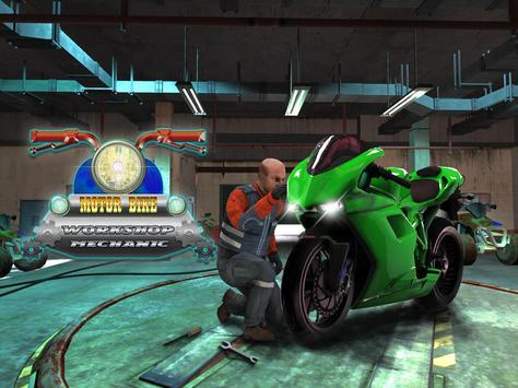 Sports Bike Mechanic Workshop screenshot 1
