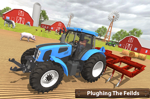 ซิมเกษตรรถแทรกเตอร์อินทรีย์: การเก็บเกี่ยวขนาดใหญ่ screenshot 8