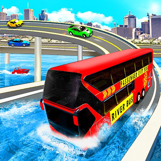 River Bus Driver Tourist Coach Bus Simulator icon