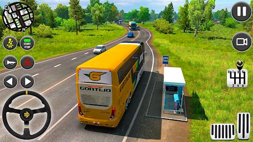publiczny autobus transport symulator trener gra screenshot 3