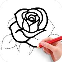 How To Draw Flowers on 9Apps