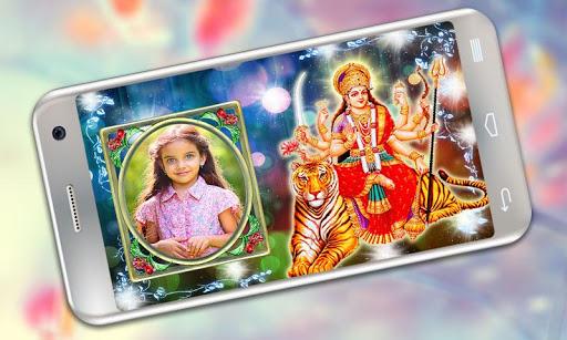 Durga Maa Photo Frames 4 تصوير الشاشة