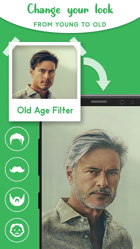 Old Age Face effects App: Face Changer Gender Swap screenshot 5