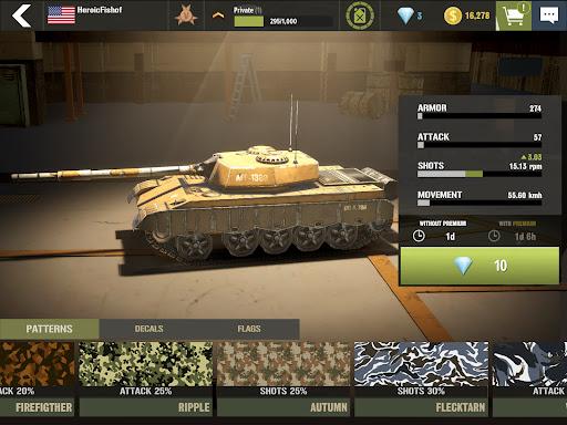 War Machines: Tank Army Game screenshot 14