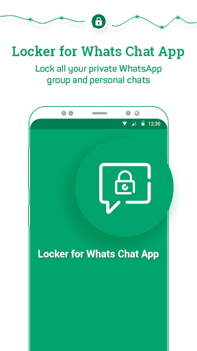 Locker for Whats Chat App - Secure Private Chat screenshot 1