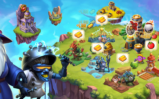 Monster Legends: Breed, Collect and Battle स्क्रीनशॉट 17