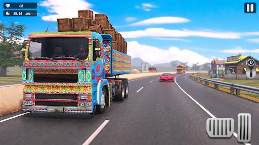 インド人 リアル トラック ドライブ シム screenshot 3