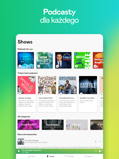 Deezer: muzyka, playlisty i podcasty screenshot 13