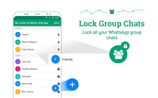 Locker for Whats Chat App - Secure Private Chat screenshot 9