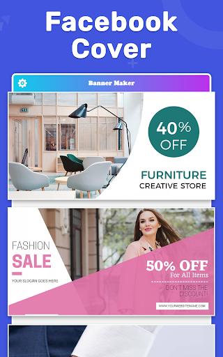 Banner Maker, Thumbnail Maker, Channel Art Maker screenshot 12