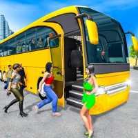 Hiện đại xe buýt lái xe giả lập on 9Apps