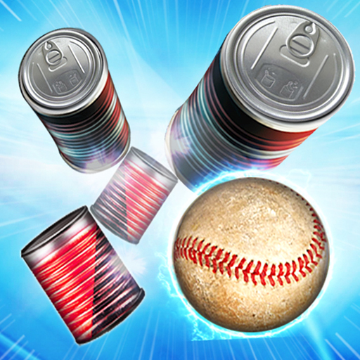 Tin Can Smasher - Hit & Knock Down Ball Shooter 3D icon