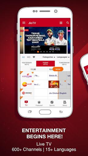 JioTV – News, Movies, Entertainment, LIVE TV screenshot 1