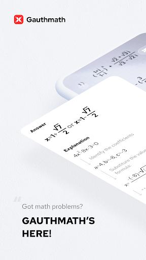 Gauthmath - Math Problem Solver with Math Tutors screenshot 1