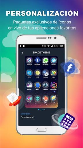 Lanzador con Iconos en Vivo para Android screenshot 4