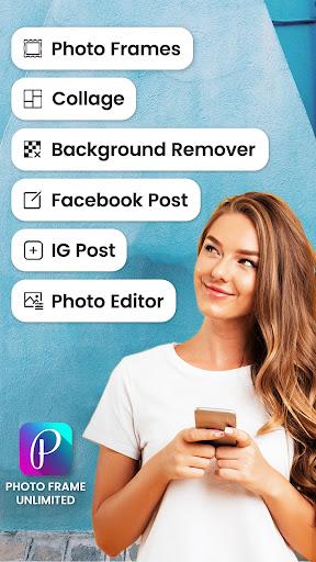 Walang limitasyong Photo Frames screenshot 1