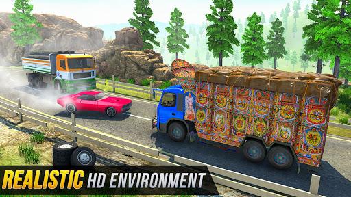 Indian Cargo Truck Driver 2021 screenshot 5