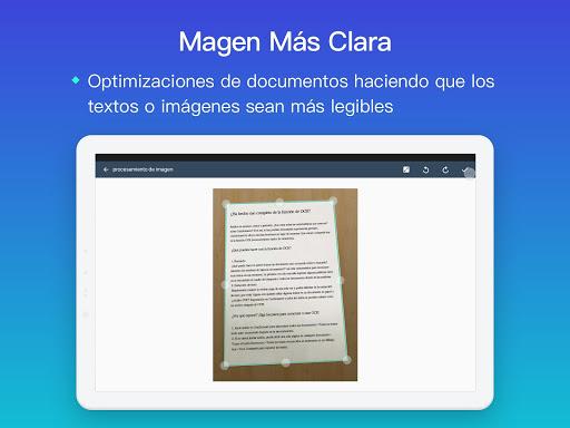 CamScanner Escáner PDF, Escáner de documentos screenshot 11
