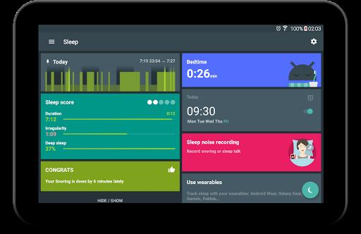 Sleep as Android: بايقاظك بهدوء من اجل صباح لطيف 10 تصوير الشاشة