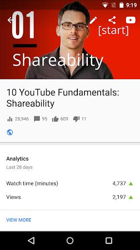 YouTube Studio screenshot 4