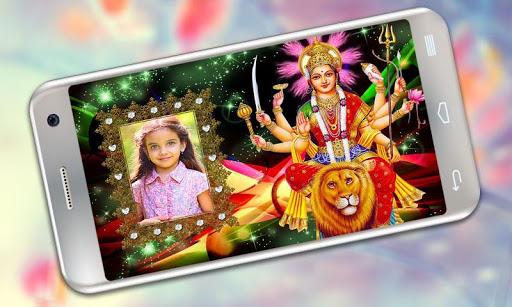 Durga Maa Photo Frames 1 تصوير الشاشة