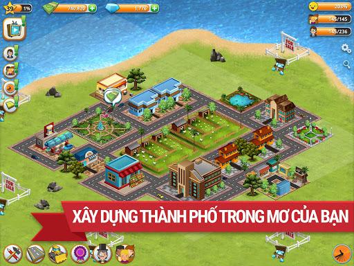 Trò chơi Thành phố Làng Đảo Village Simulation screenshot 12