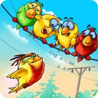 Birds On A Wire: Free Match 3 on 9Apps
