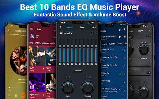 Reproductor de música -  MP3 y ecualizador de 10 screenshot 9