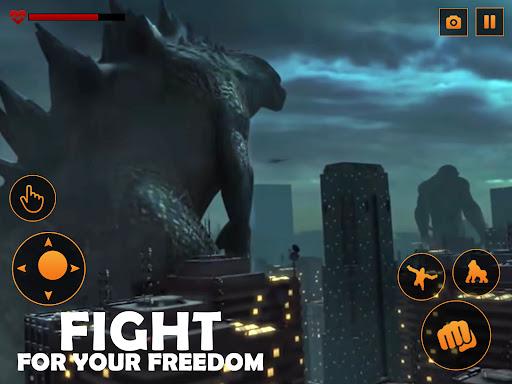 Monster Gorilla Attack-Godzilla Vs King Kong Games screenshot 9