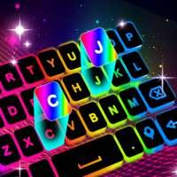 แป้นพิมพ์นีออน LED - สีแสง RGB on 9Apps