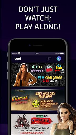 Voot Select Originals, Bigg Boss, MTV, Colors TV screenshot 8