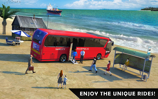 River Bus Driver Tourist Coach Bus Simulator screenshot 16