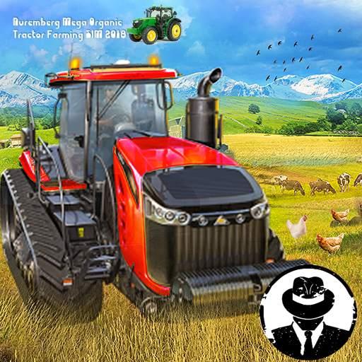 Nuremberg Mega Organic Tractor Farming SIM 2020