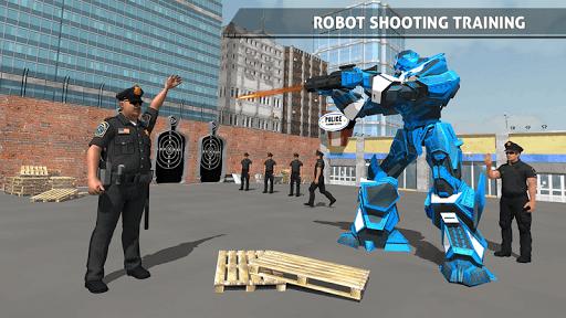 Polizeiauto Robotertransporter screenshot 5