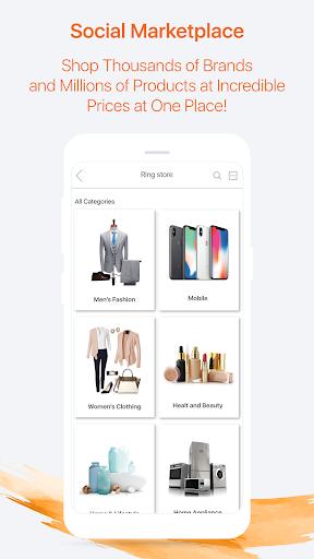 ringID- Live Stream, Live TV  and  Online Shopping screenshot 4