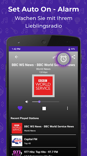 Radio FM: Live-Radio-App screenshot 7