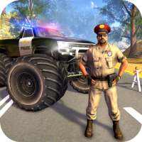 US Police Monster Truck Gangster Car Chase Games on 9Apps