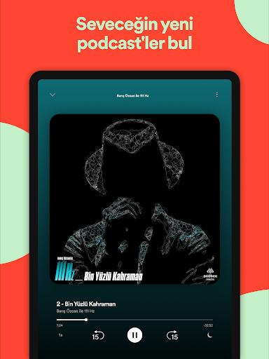 Spotify: Müzik ve Podcast'ler screenshot 12
