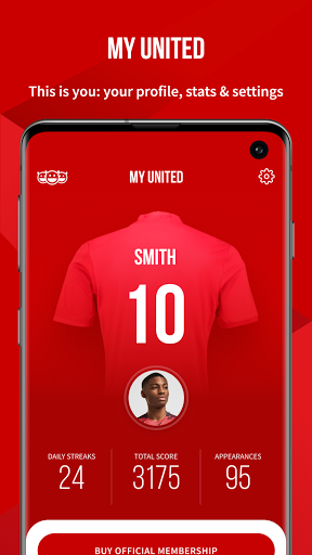 Manchester United Official App स्क्रीनशॉट 8