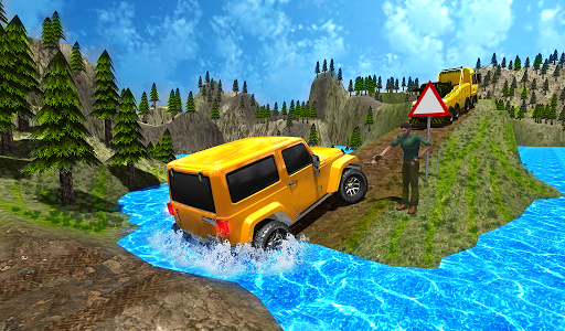 Offroad Racing 3D screenshot 1
