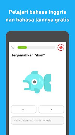Duolingo: Belajar Inggris Gratis screenshot 3
