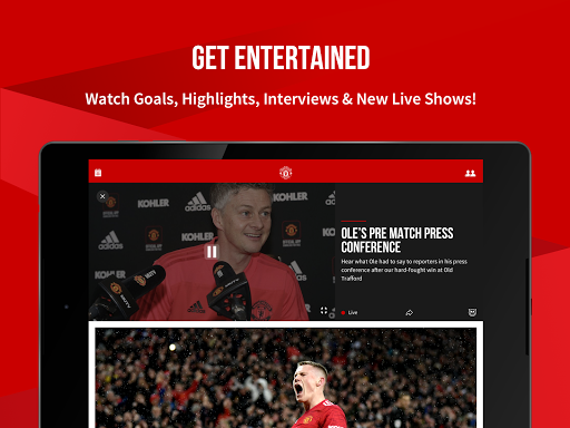 Manchester United Official App स्क्रीनशॉट 11
