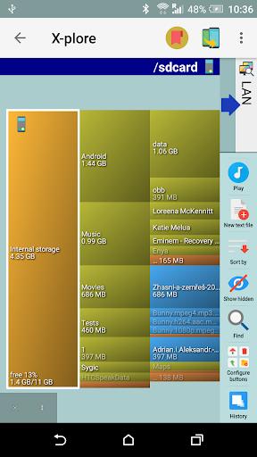 X-plore File Manager скриншот 4