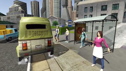 Tuk Tuk Rickshaw City Driving Simulator 2020 screenshot 4