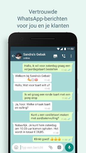 WhatsApp Business screenshot 6
