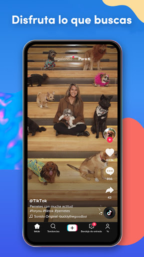 TikTok: Retos, Videos & Música screenshot 3