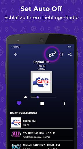 Radio FM: Live-Radio-App screenshot 4