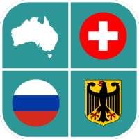 Quiz Geográfico: banderas, mapas y escudos on 9Apps