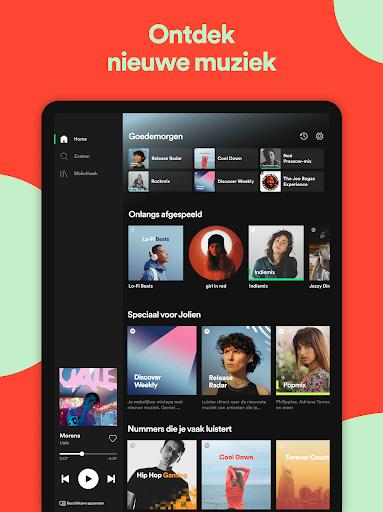 Spotify - Muziek en podcasts screenshot 10