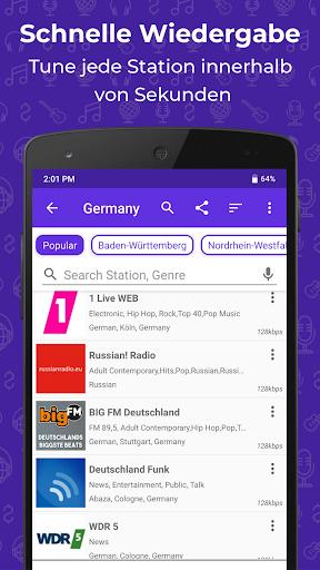 Radio FM: Live-Radio-App screenshot 2